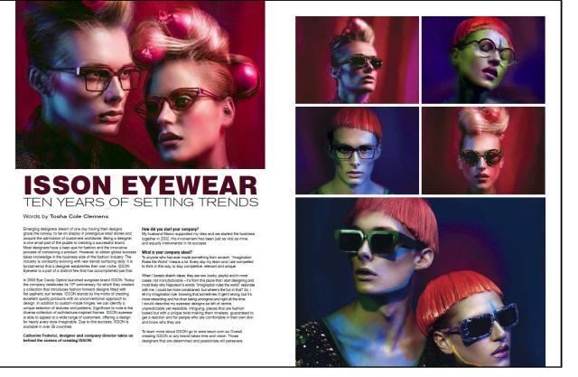 IN Mag- ISSON Eyewear