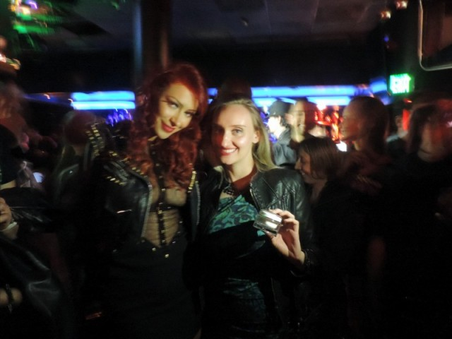 Singer Kaya Jones and Aeveka Skincare owner Ilona Landver
