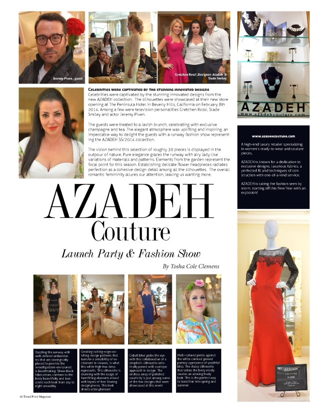 Azadeh 2 in Trend Prive