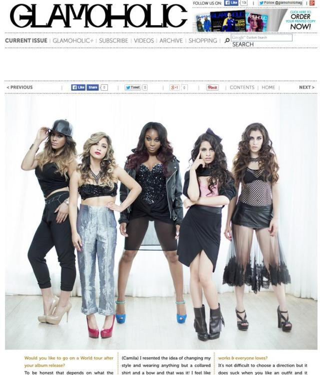 glamoholic fifth harmony wearing bstrd