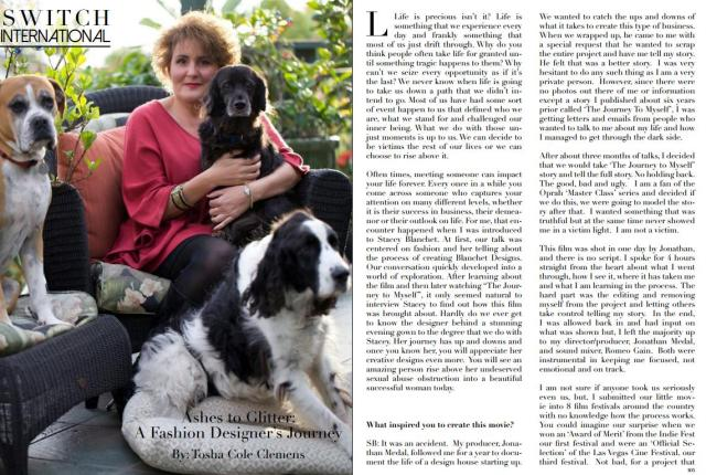 Stacey in Switch Mag