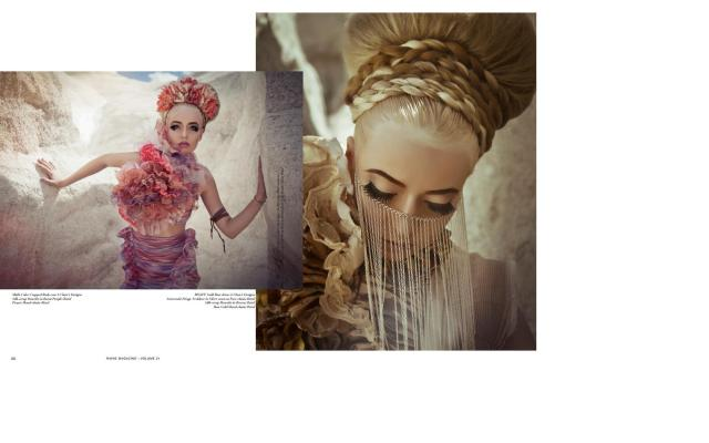 Raine Magazine- featuring bstrd jewelry 2