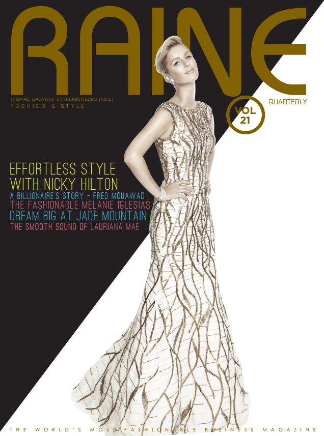 Raine Magazine- featuring bstrd jewelry