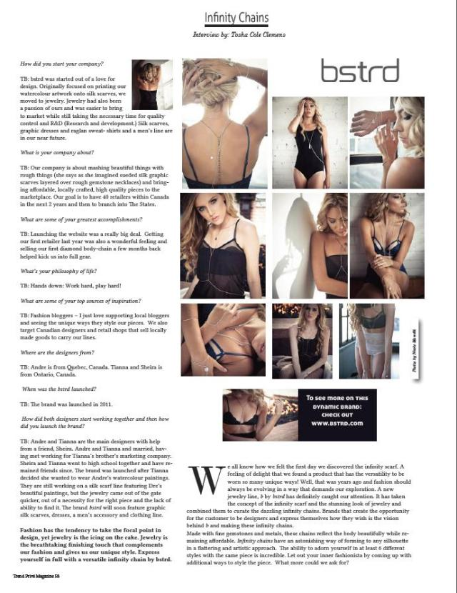 bstrd in trend prive magazine article