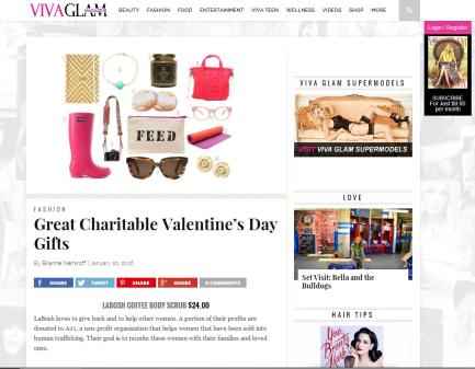 LaBosh Viva Glam- Great Charitable VDAY